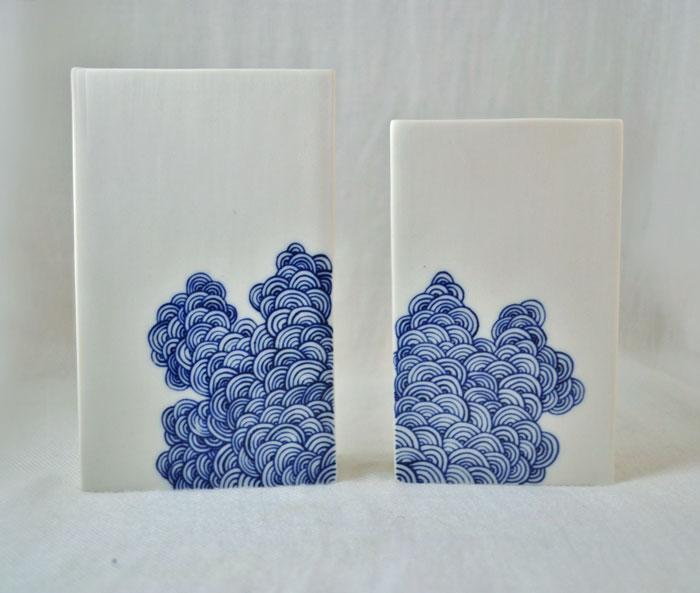 Box Shape Vases